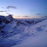 Pogled proti Bohinjskemu koncu