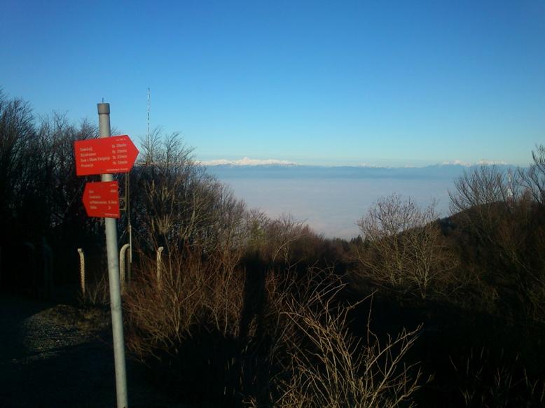 Triglavsko pogorje s Krima