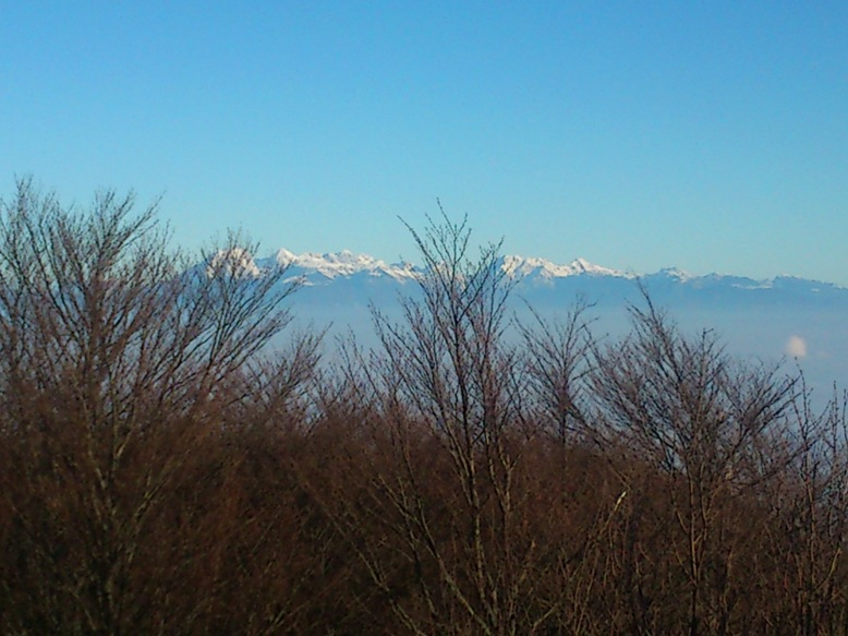 Kamniške alpe s Krima