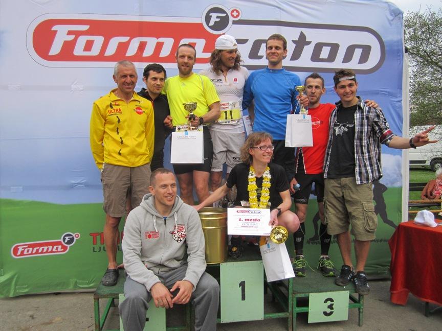 1. mesto; Tekaški forum - ultra