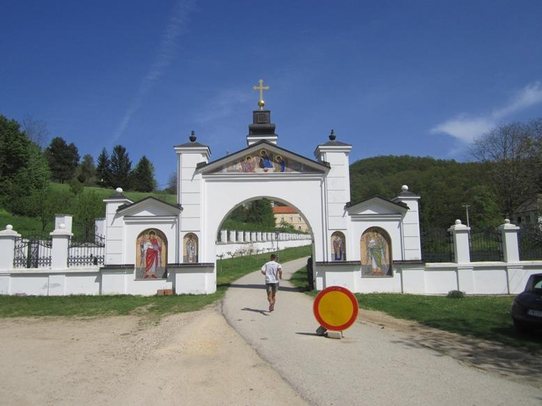 Samostan...na celi Fruški gori jih je kar 16.