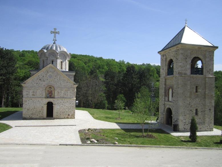 Samostan ob poti...