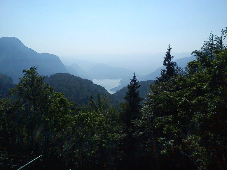 Pogled na jezero s Komne