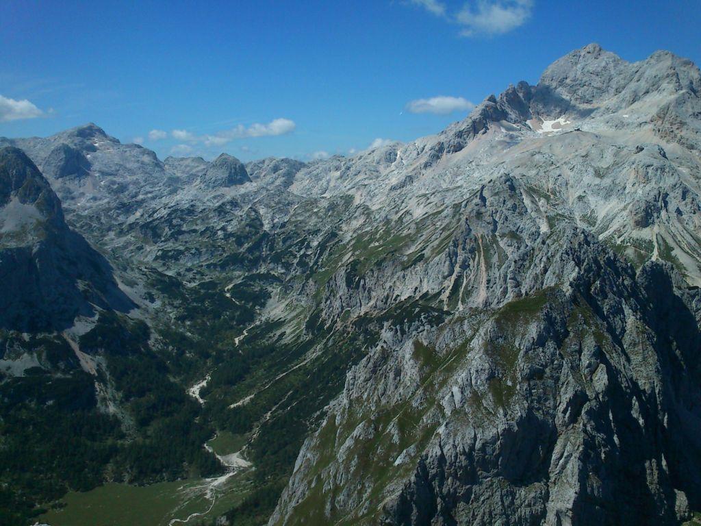 Kanjavec, Velo Polje in Triglav