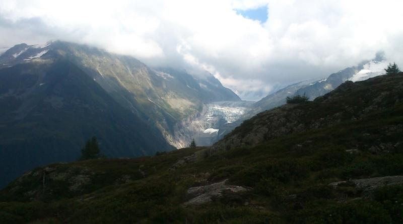 Pogled na enega od ledenikov