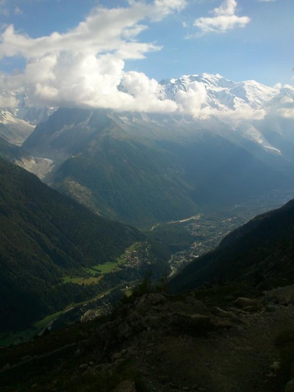 Pogled za milijon dolarjev_Mont Blanc in Chamonix