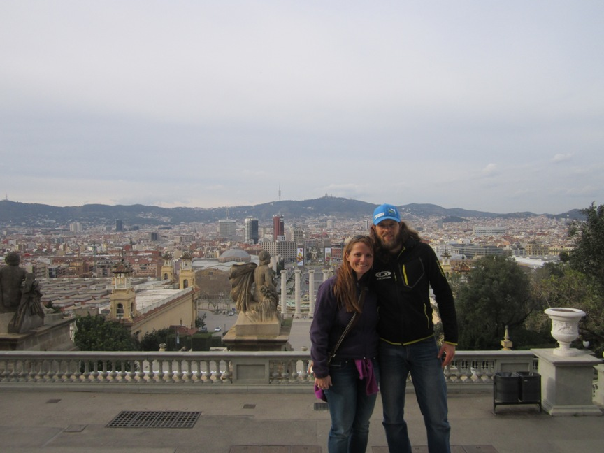 Barcelona na poti na Gran Canario
